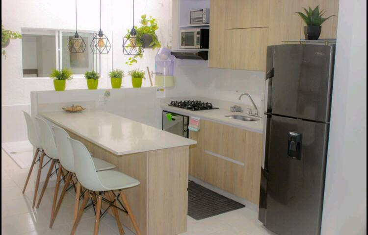 Medellin - Full Private Apt. with Parking