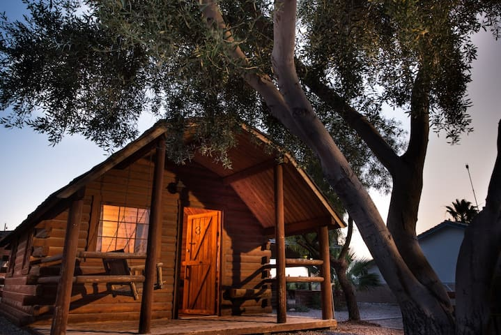 001 Colorado River Rustic Cabin Rental -Sleeps 4