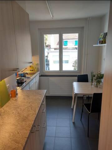 Helle Wohnung in Biel-Mett. Grün und zentral.
