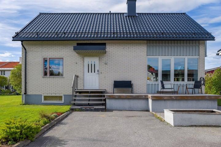 Large house near the centre of Umeå