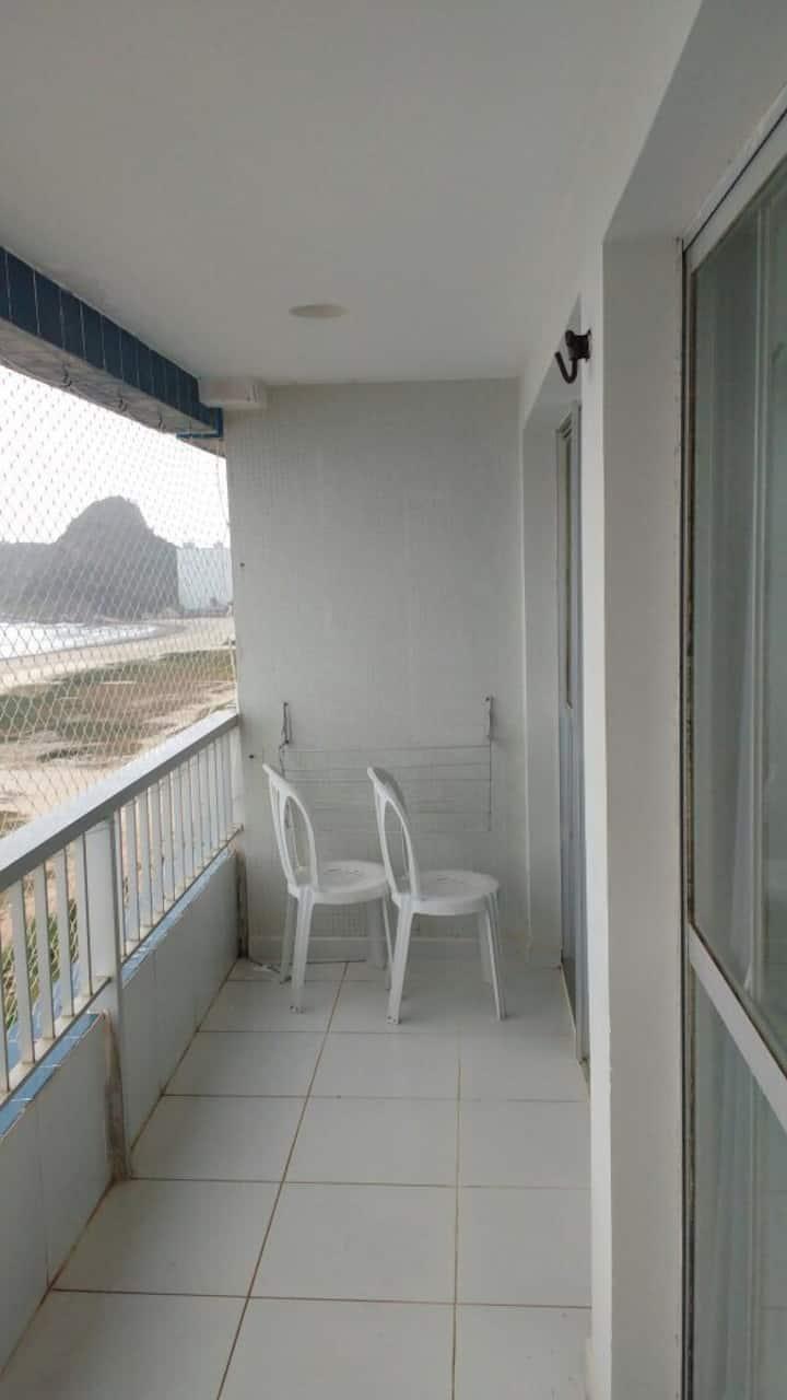 Apartamento beira mar em caioba