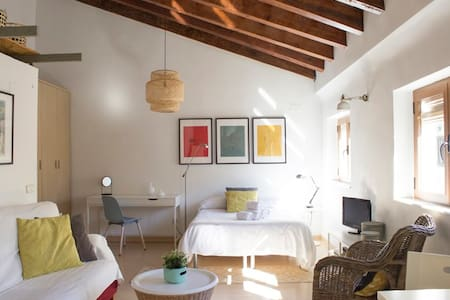 Cozy penthouse by Central Market in old Valencia - València