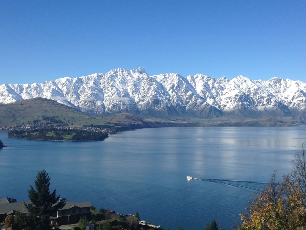 The Remarkable Mountains & Lake View from the House