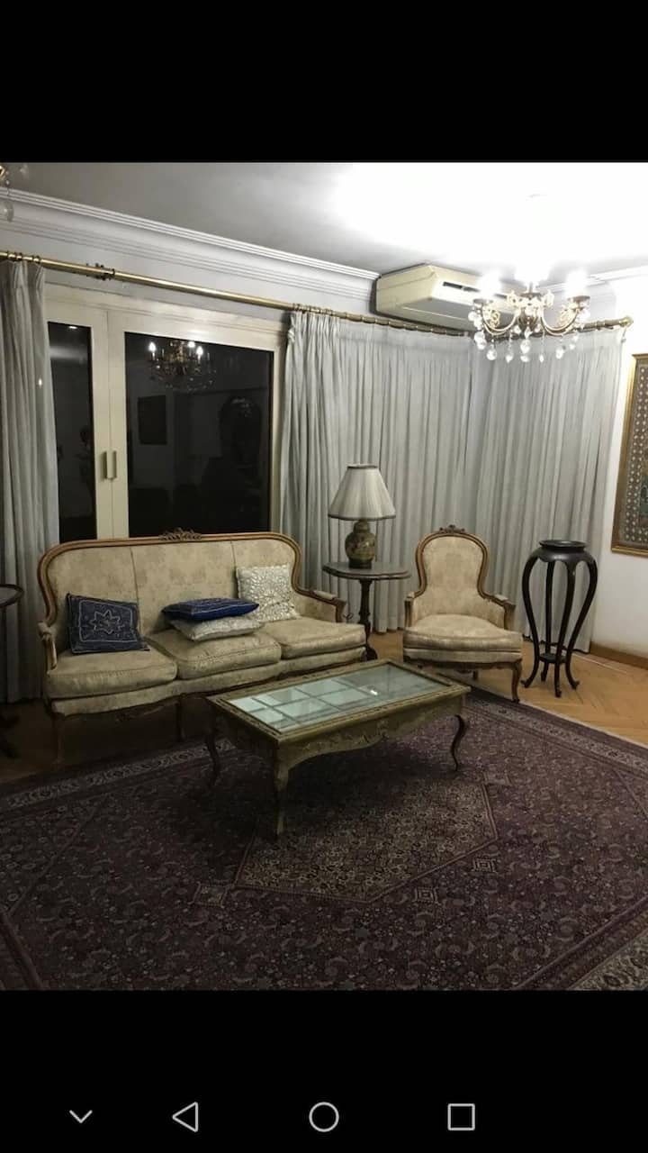 An apartment in maadi with good location & price