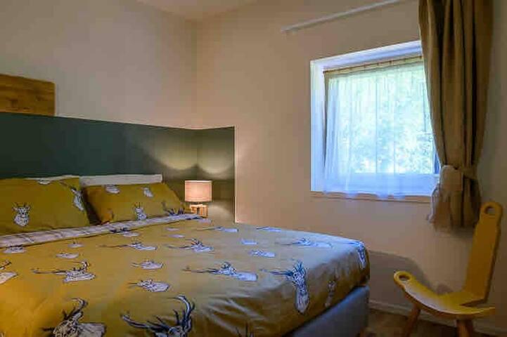 I letti in questa camera possono anche essere separati