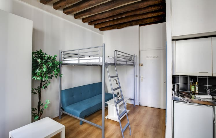 Nice Central Flat near Pompidou
