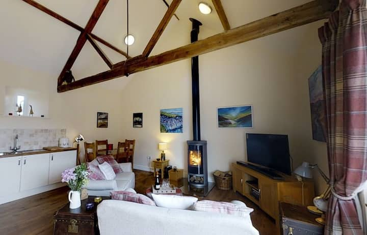 Cosy cottage with log burner, near Rothbury.