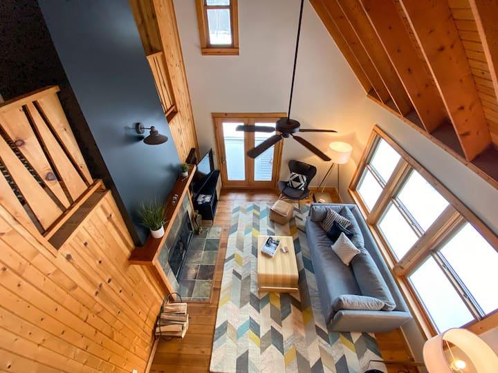 Nordic Modern | White Pine Chalet @ BrickyardCreek