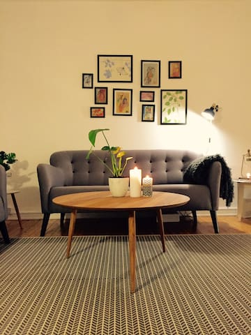 Cozy central apartment near train station - Copenaghen - Appartamento