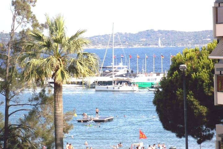 vue (avec zoom) depuis le balcon