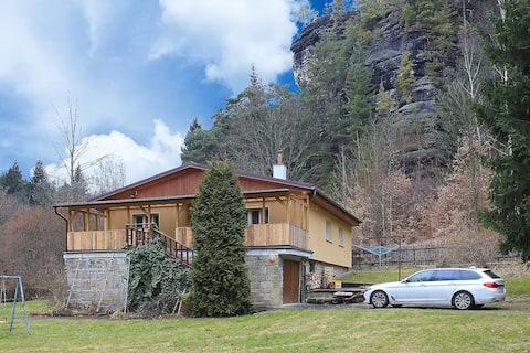 Casa no Parque Nacional da Suíça Tcheca