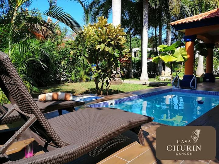 Villa Camila en casa Churin- near the beach