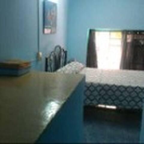 Blue beautiful rent