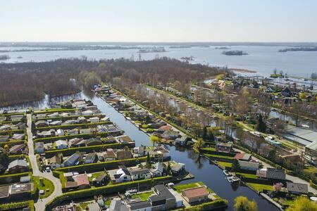 NEW: Beautiful Cottage at the Lakes near Amsterdam - Loosdrecht - Srub