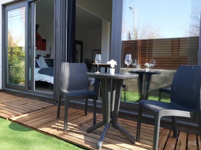 Apartamento con Jardín Privado junto a La Pedriza
