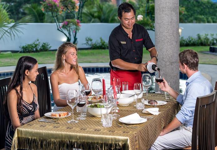 Luxury Villas Phuket In Villa Restaurant