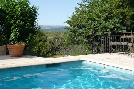 Mountain house with view and pool - Montauroux - 独立屋