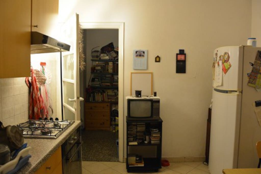 Other side of the kitchen