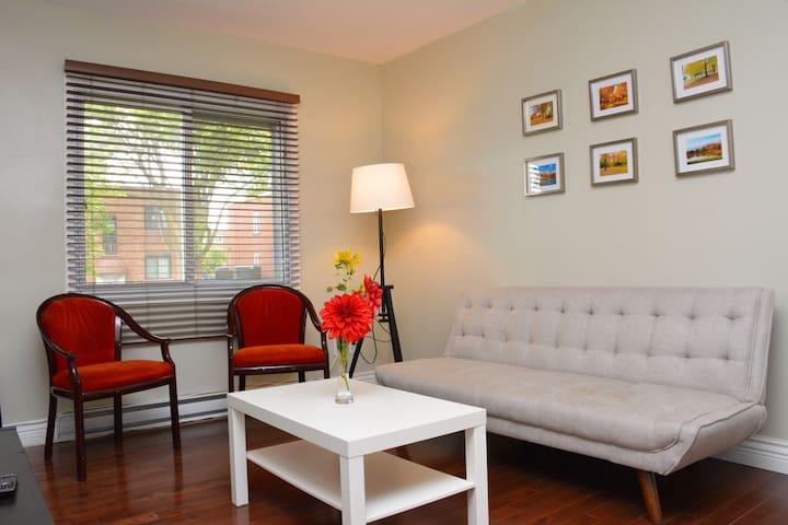 Beautiful cozy home near metro Cote-Vertu ❤