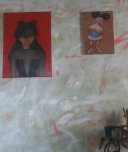 Studio de pintura e figurino no guetto - Rio de Janeiro - Rumah