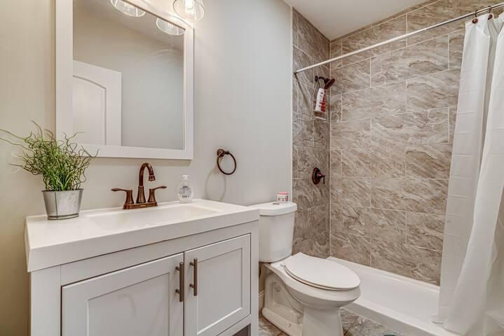 Remodeled Bathroom Shared