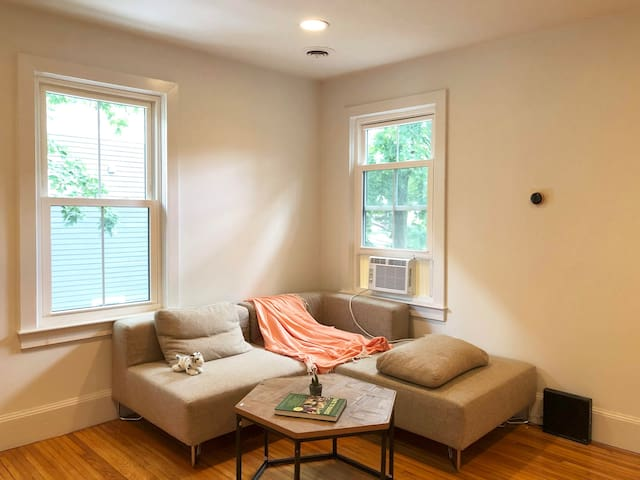 Sunny & spacious modern condo in Central Sq
