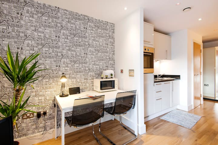 Spacious studio in the center of Canary Wharf