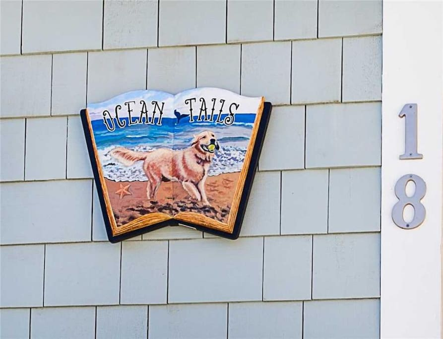 Ocean Tails sign