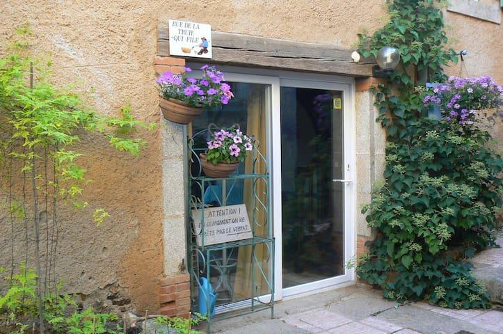 Gîte de la Truie qui file - Saint-Salvy-de-la-Balme - Дом