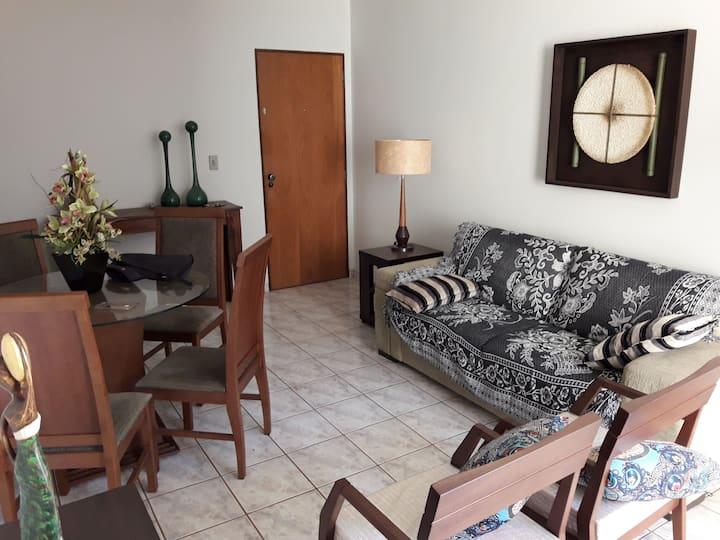 Agradável apartamento com três quartos