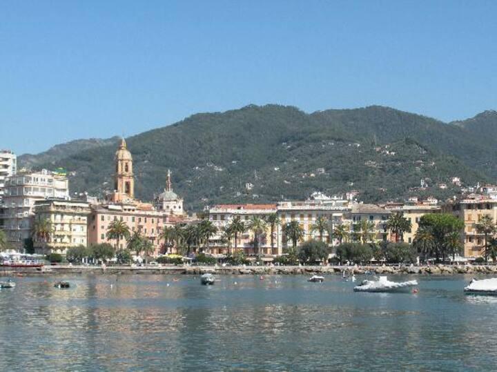 Sul mare con vista su Portofino