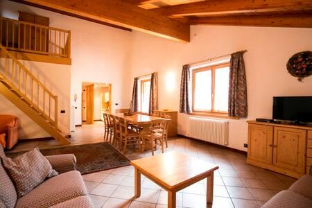 Quadrilo Apartment in Nembia Oasis & Molveno Lake
