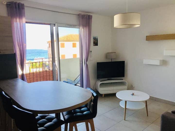 Algajola - Charmant appartement moderne  - F3 5 MARE