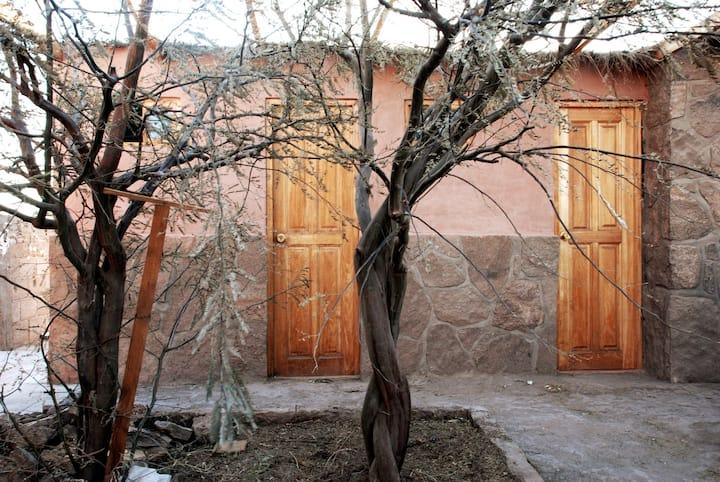 (2) Habitación doble + baño en el rural Chiu-Chiu