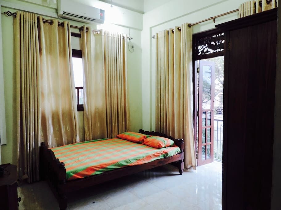 Bed Room 1 with front balcony