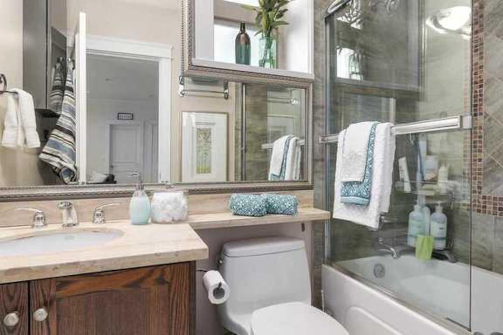 Private Guest Bathroom