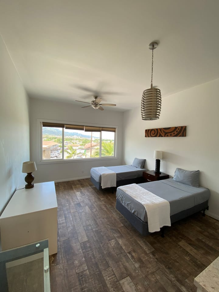 Unit5 Cozy Newly Remodeled Studio in Central Maui!