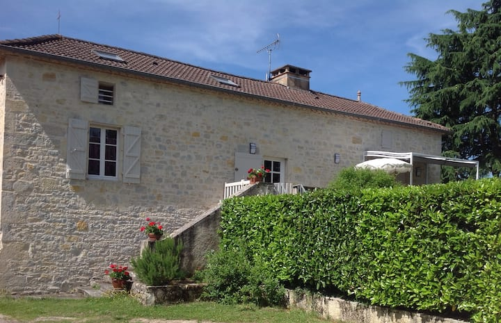 a typical Quercy house