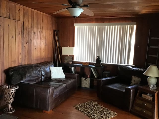 Den with new furniture