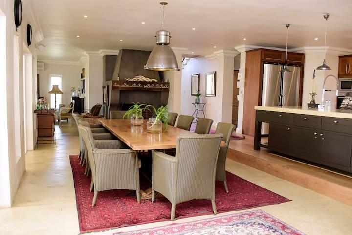 Luxury Home at De Zalze Wine and Golf Estate
