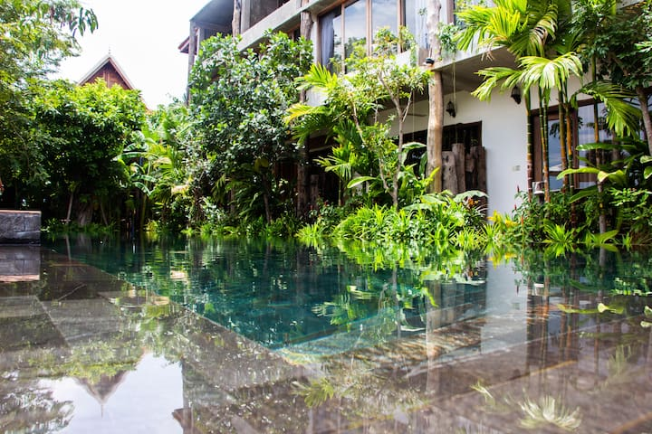 The Nature- 2 Bedrooms+ Private Kitchen+Pool