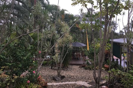 Hinterland Nature Bungalow + Organic Breakfast - Palmwoods