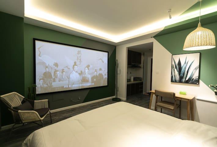 【龙舌兰】巨幕投影/零压床垫/鼓楼/投影/内大