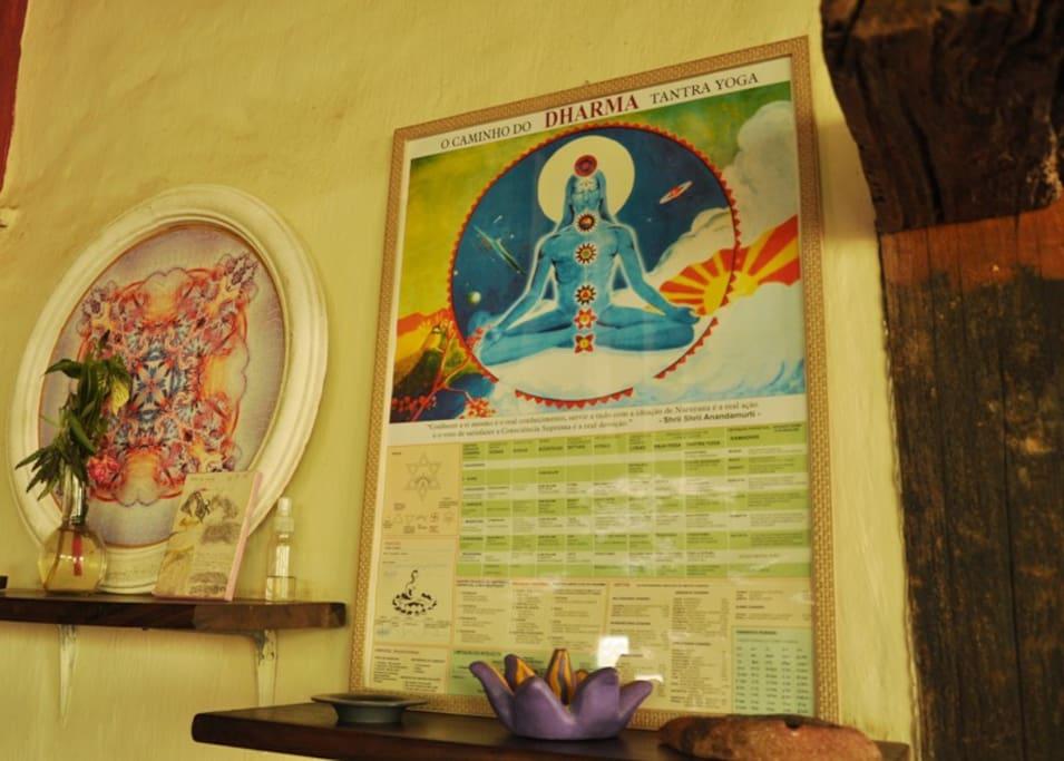 Pratica de yoga são realizadas em dias variados