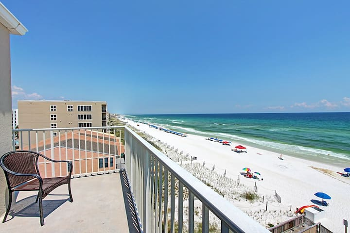 Emerald Towers W 5000-2BR- RealJoy Fun Pass- Fabulous Views - Wraparound Balcony! - Fort Walton Beach - Apartament