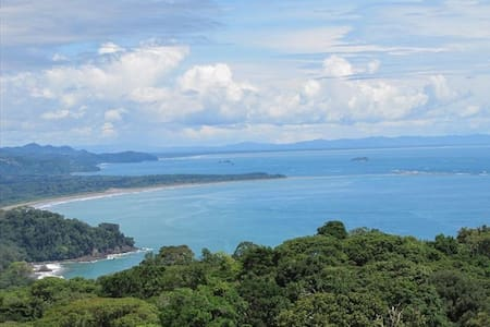 Stunning White Water Ocean & Misty Mountain Views - Dominical