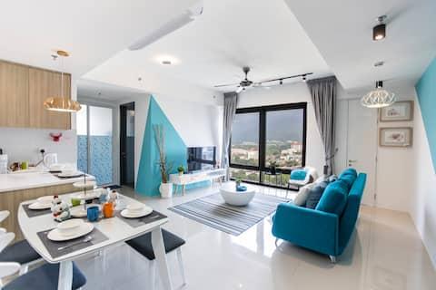 New Georgetown Tropicana 3BR Suite全新乔治市观景度假套房