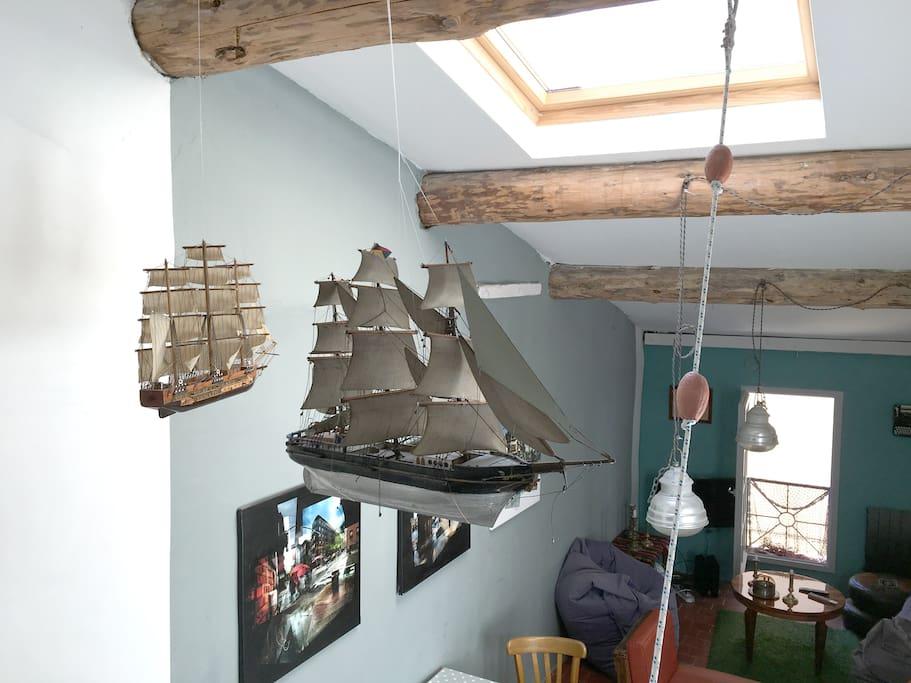 la maison du capitaine la ciotat case in affitto a la ciotat provenza alpi costa azzurra. Black Bedroom Furniture Sets. Home Design Ideas
