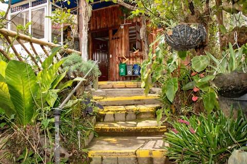 Hermosa Cabaña Familiar en Salento BONAIRE hostal.