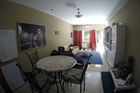 Private Room in fully equipped stylish  apartment - Santo Domingo - Appartement
